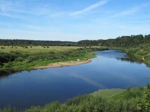 Речка- реченька зелены берега...2
