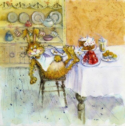 Иллюстрации английского художника-иллюстратора Jan Pashley 27534