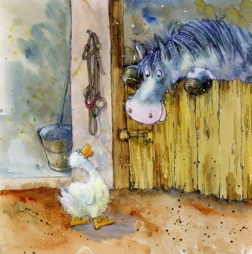Иллюстрации английского художника-иллюстратора Jan Pashley 11483