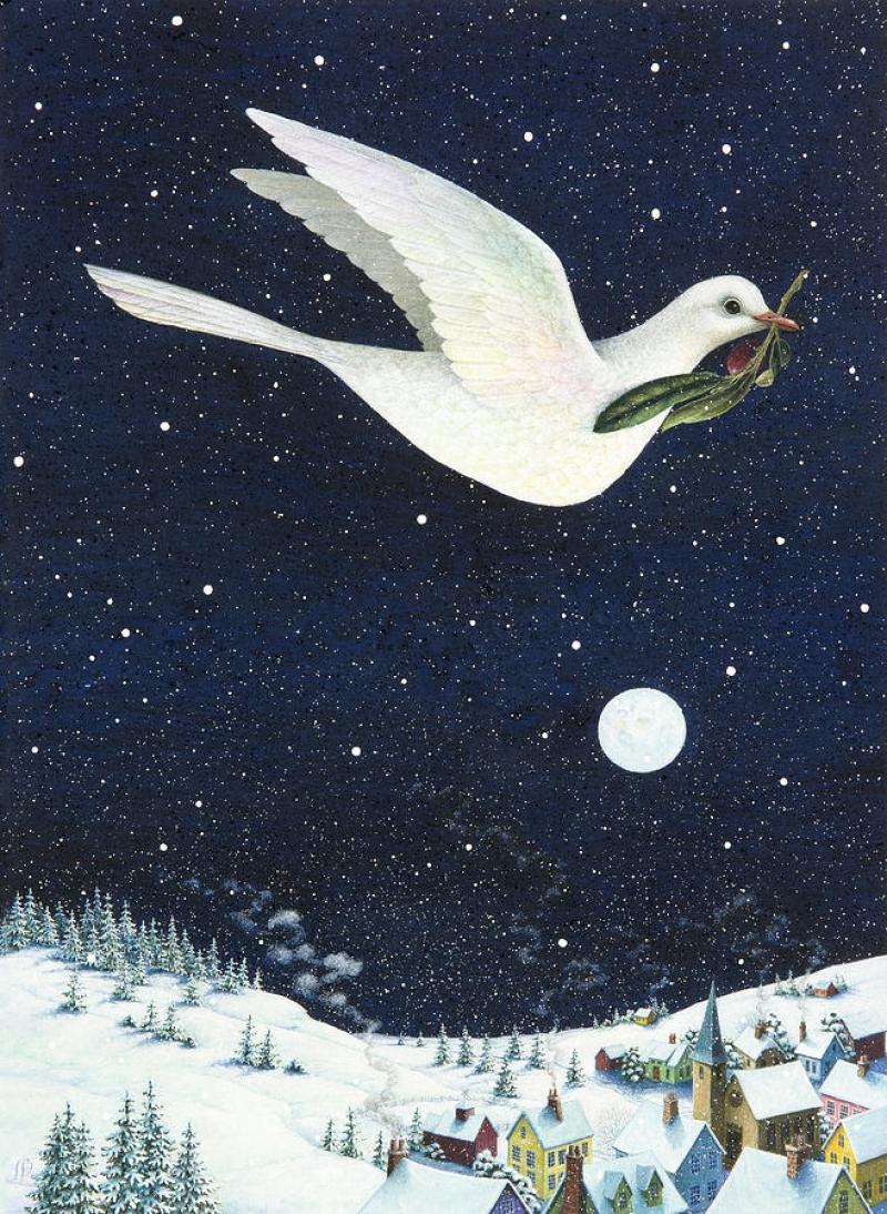 Рождественский Голубь