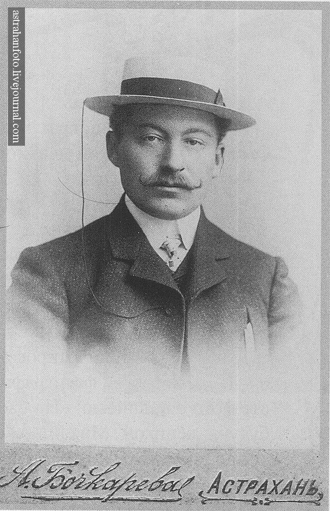 Портрет М.А. Селиверстова. 1.7.1904