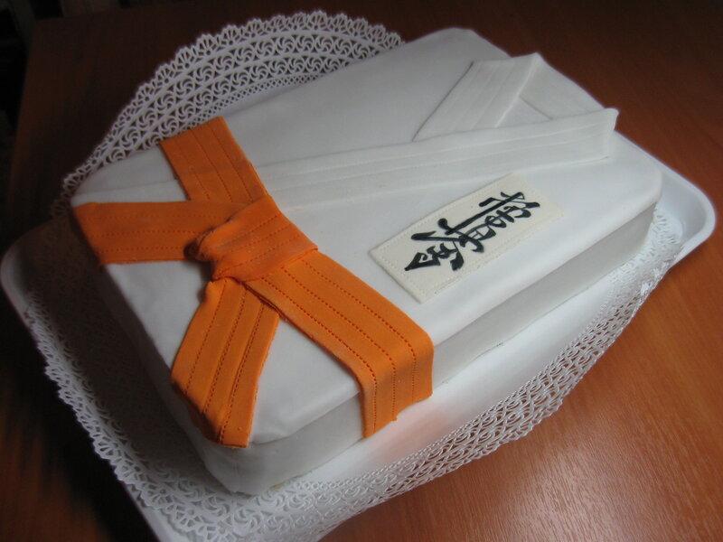 Торт карате фото