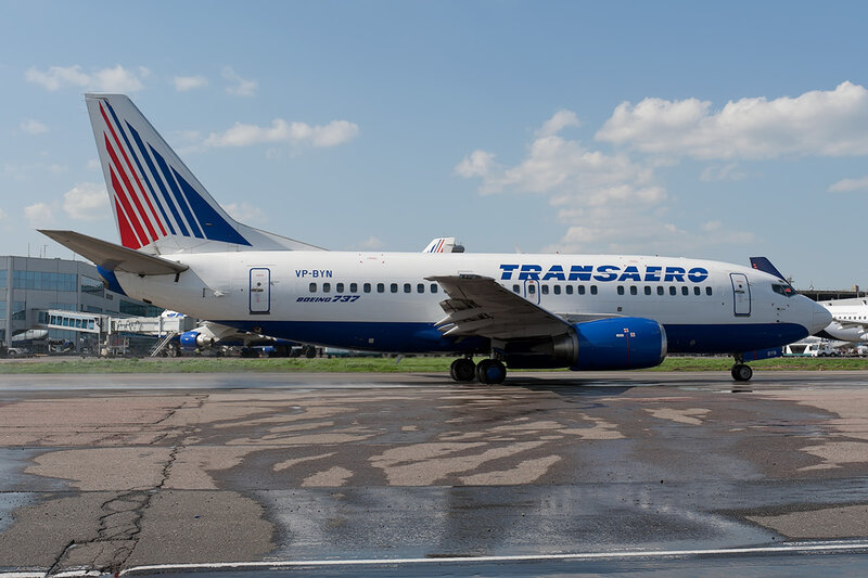 Boeing 737-524 (VP-BYN) Трансаэро DSC_0072