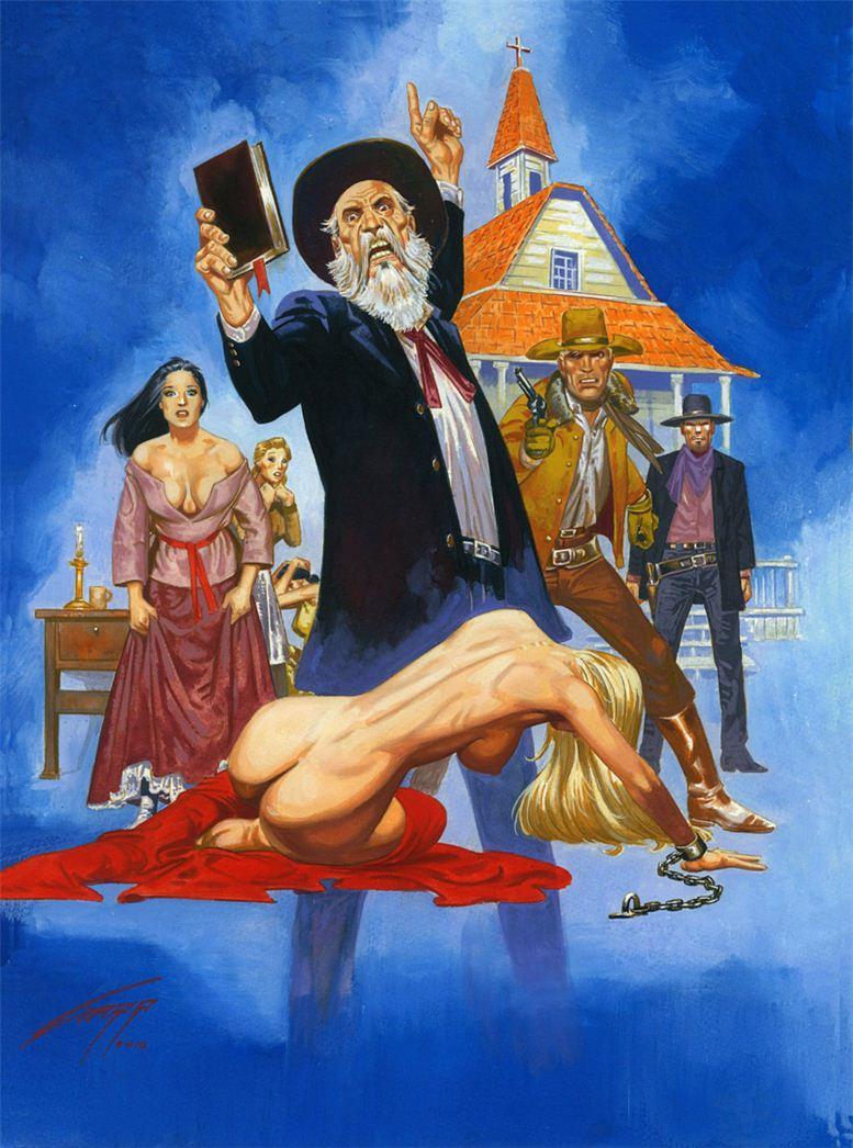 Горячие женщины - Рисунки художника Рафаэля Галлура / Rafael Gallur pictures - Paradise lost