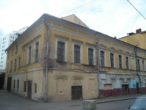 дом усадьбы купца Н. Я. Якунина