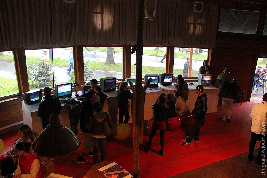 Выставка музея приставок «PRESS START»