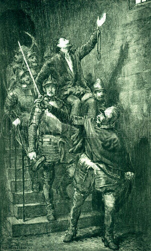 The rescue of Kinmont Willie from Carlisle Castle