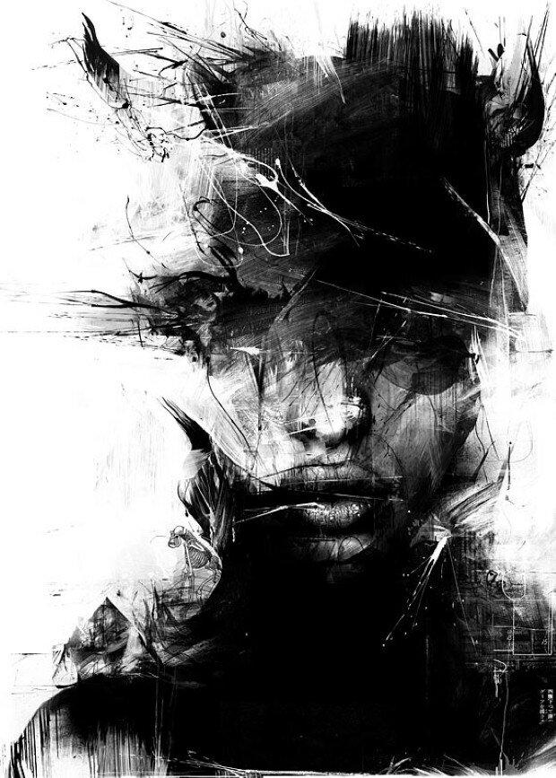 Эмоциональные рисунки. Russ Mills 9
