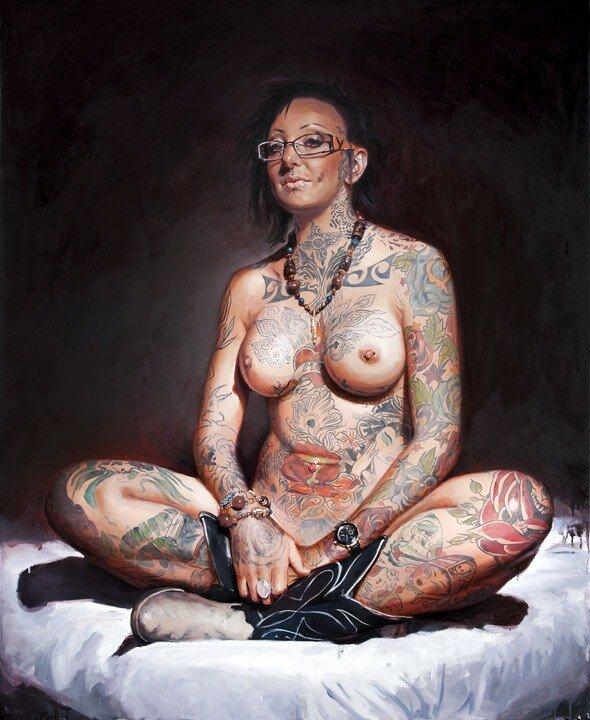 Shawn Barber. Татуированные картины 25