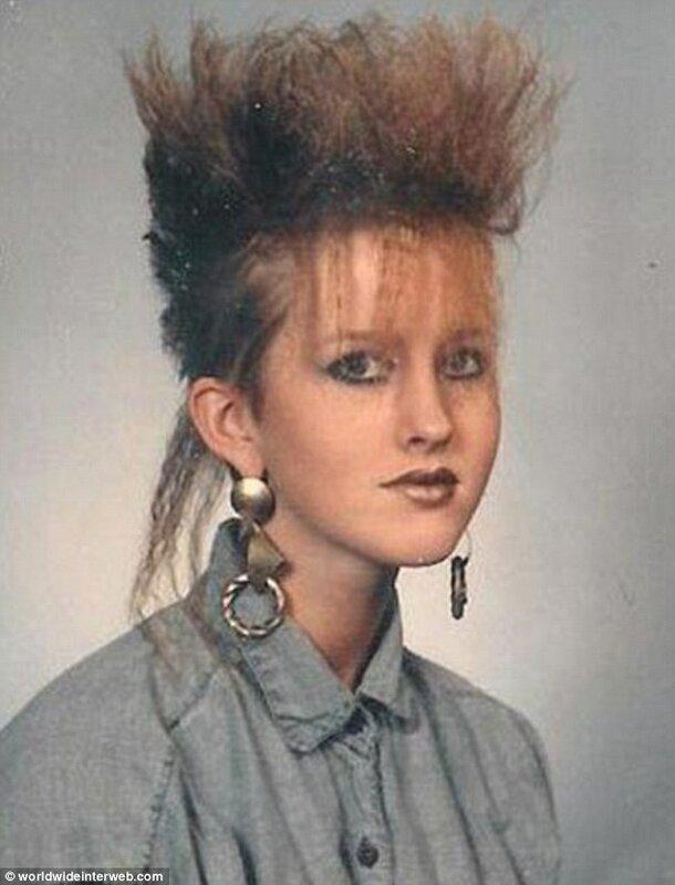 Модные прически в стиле 80-х годов с фото