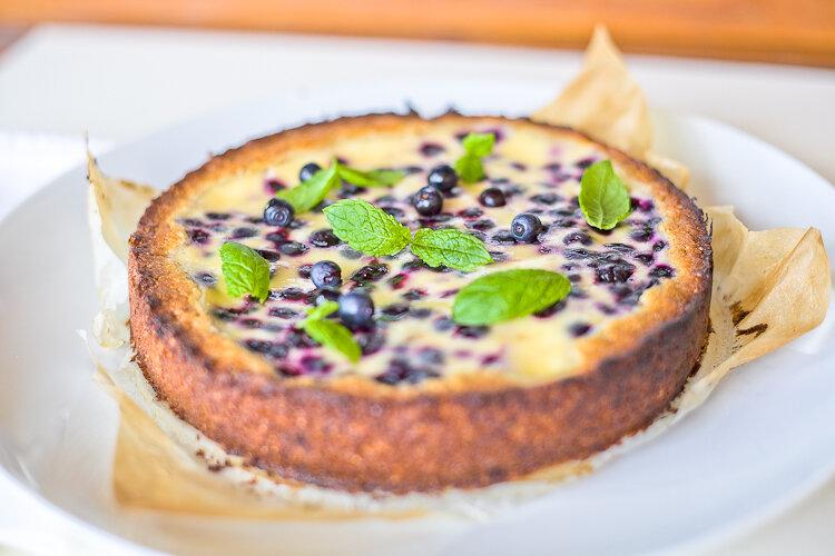 Самый вкусный пирог с черникой рецепт