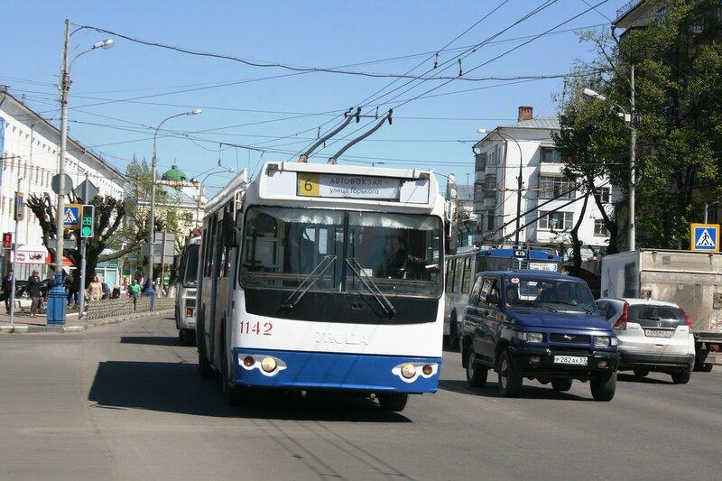 Начнем мы с троллейбусов.