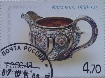 2004 серебро молочник 4.70