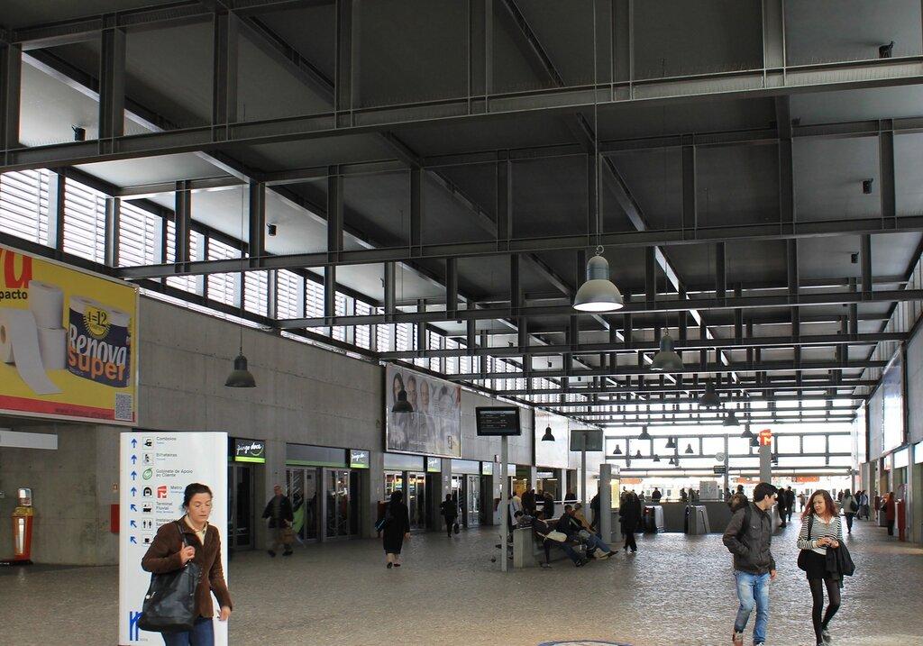Лссабон. Вокзал Кайш ду Содре (Estação Ferroviária do Cais do Sodré)