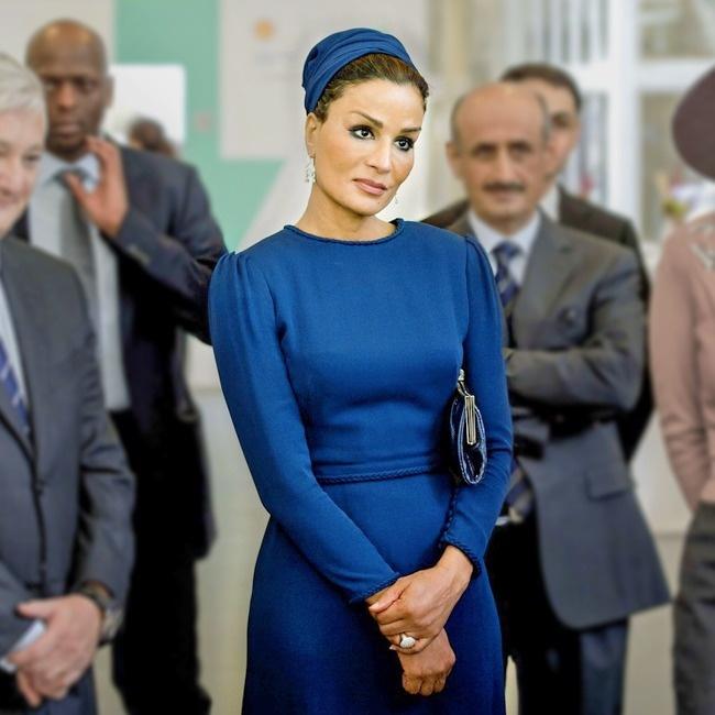 © eastnews  Серый кардинал Катара. Считается первой леди государства иодной изсамых могущест