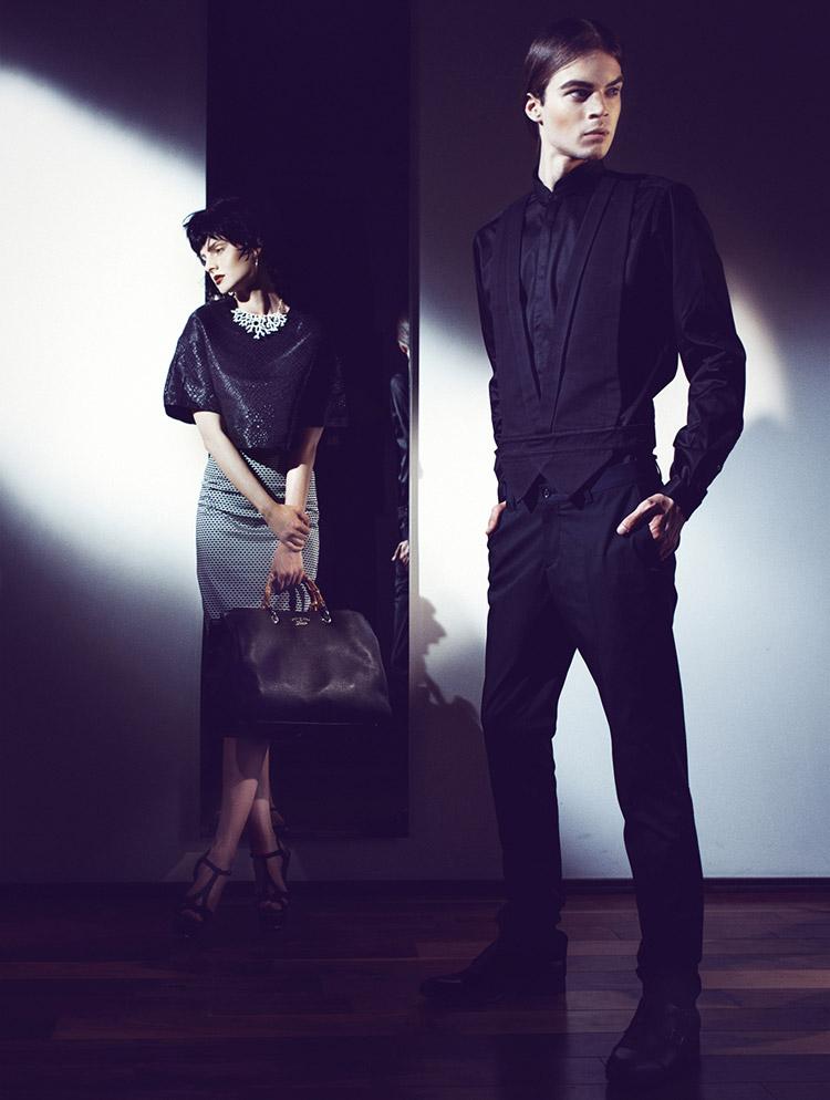 Паулина Цибульска (Paulina Cybulska) и Михал Садовский (Michal Sadowski) в фотосессии Mateusz Bral