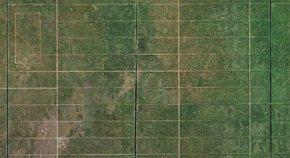 4. Эта территория в 23067 гектаров под названием «Особняки Голдент Гейтс» была крупнейшей в Америке