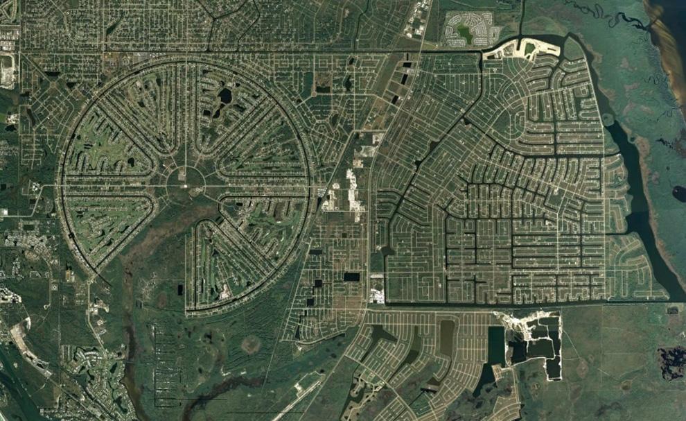 6. Район Ротонда Вэст, первоначально застроенный в 1960-ых годах, так и не был завершен. Он находитс