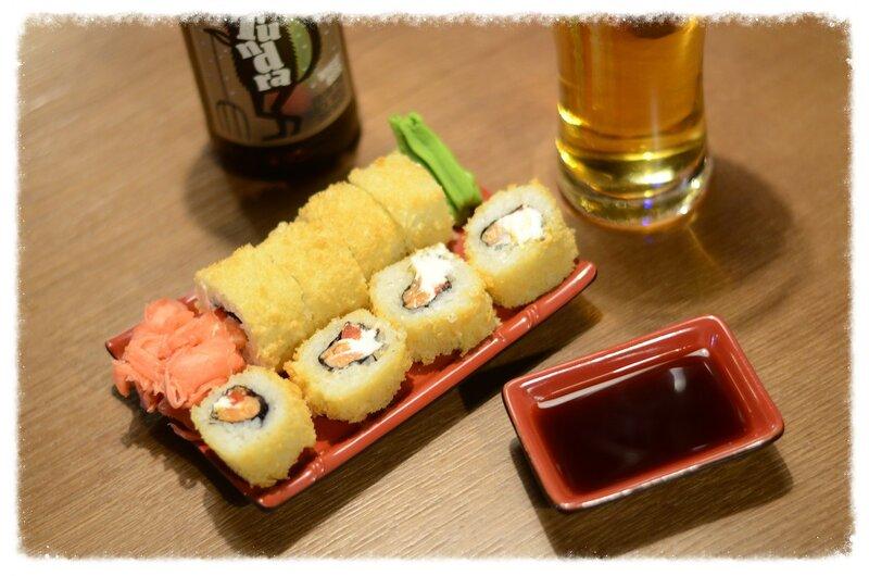 Картинка суши и пиво