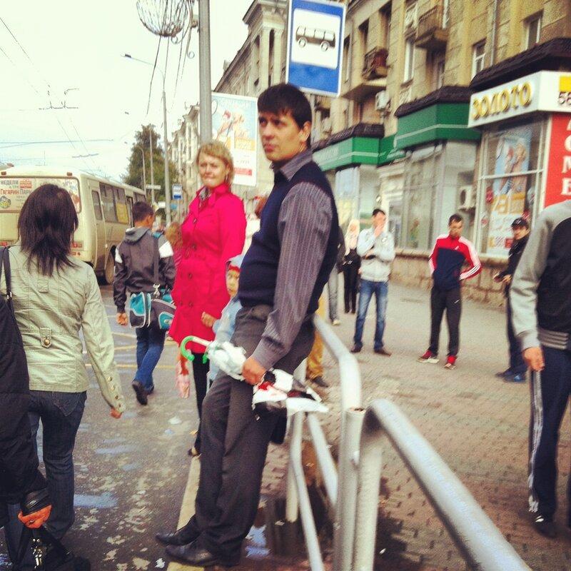 Картонный зонт