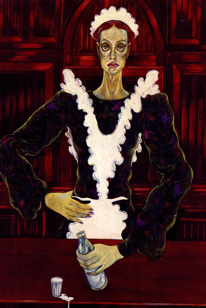 Инна Чурикова. Рисунок Юрия Богатырева.