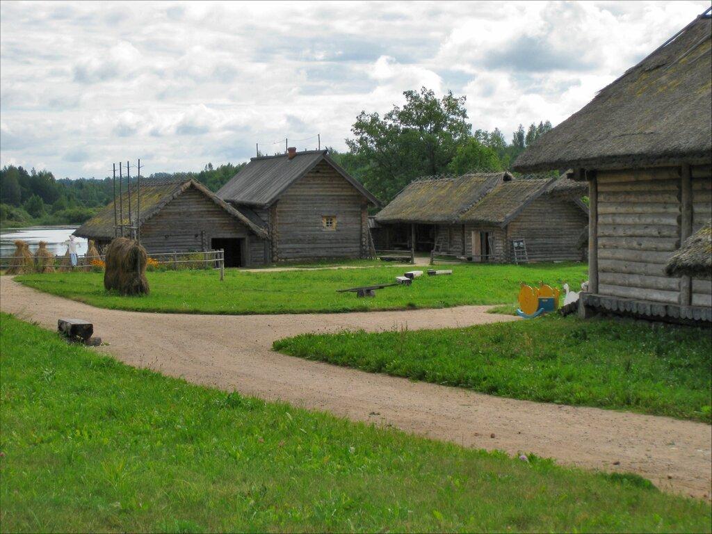 Пушкинские горы, Бугрово. Крестьянская усадьба