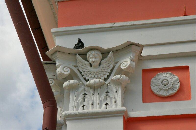 Казанская часовня, деталь