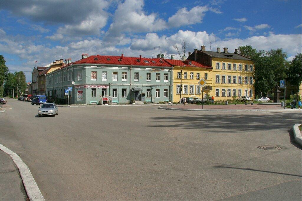 Шлиссельбург, Красная площадь