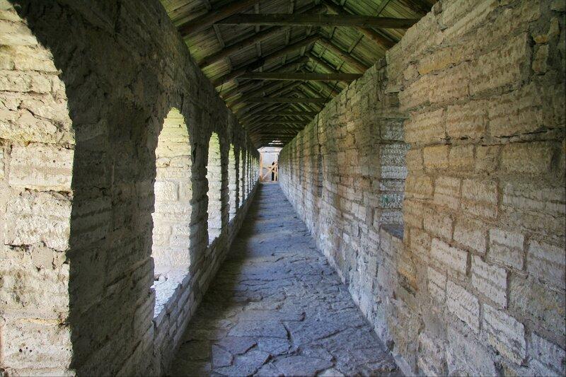 Крепость Орешек, На крепостной стене