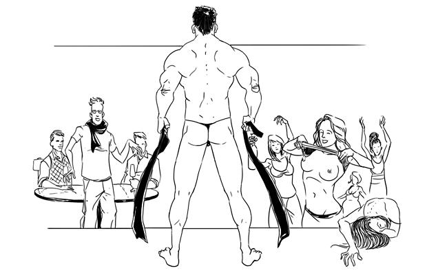 Женский стриптз до гола фото 373-606