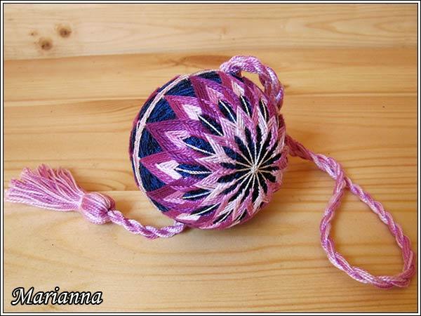 Розовый фейерверк - двойная хризантема