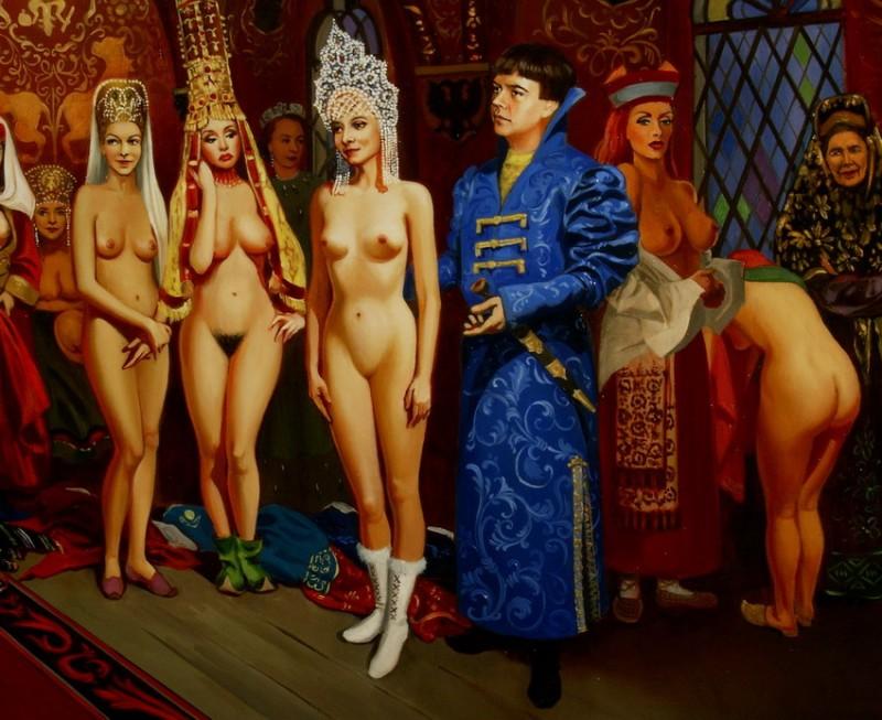 картины выбора проституток москвы в голом виде