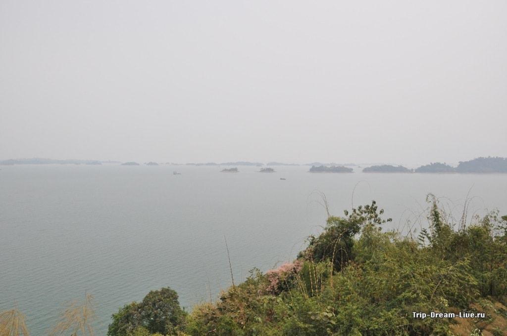 Озеро Нам Нгум (Nam Ngum)