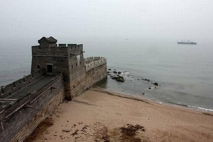 Концы Великой китайской стены