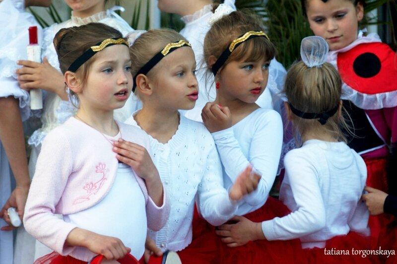 Юные участники концерта