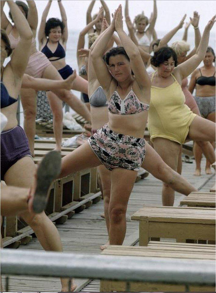 Сочи. Гимнастические классы для отдыхающих в санатории