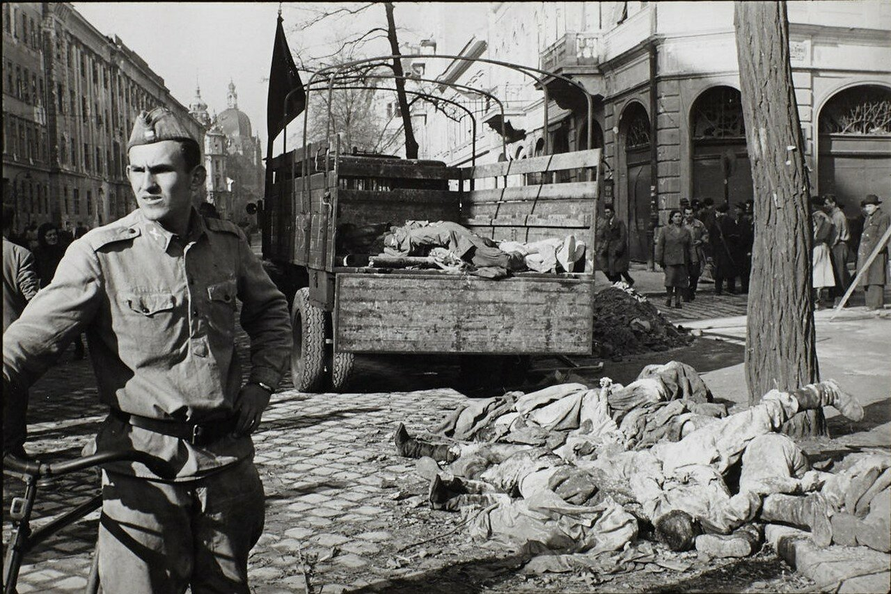 Венгерский мятеж 1956 на фотографиях Эриха Лессинга