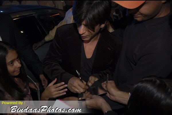 Ўарукх хан и фанаты 2007