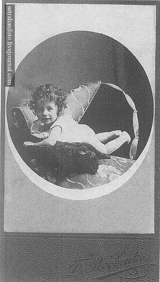 Портрет Анечки Скворцовой. 1913.