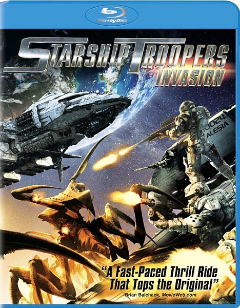 Звездный десант: Вторжение / Starship Troopers: Invasion (2012) BDRemux + BDRip 1080p + 720p + DVD5 + HDRip