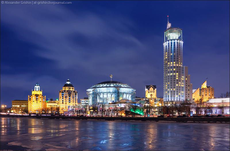 Вечерняя Москва