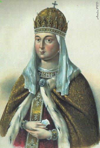 Евдокия Стрешнева русская царица.
