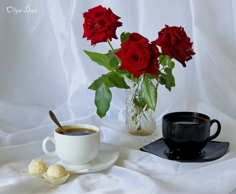 Картинки, открытка кофе в постель женщине