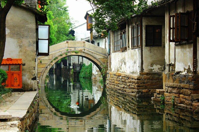 Чжоучжуан - один из красивейших городов в Китае