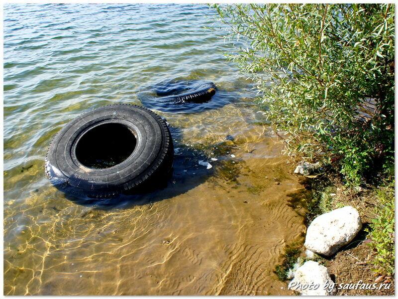 Дайверы на озере смерти