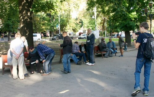 Львовские шахматисты