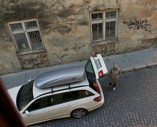 Из окна номера во Львове