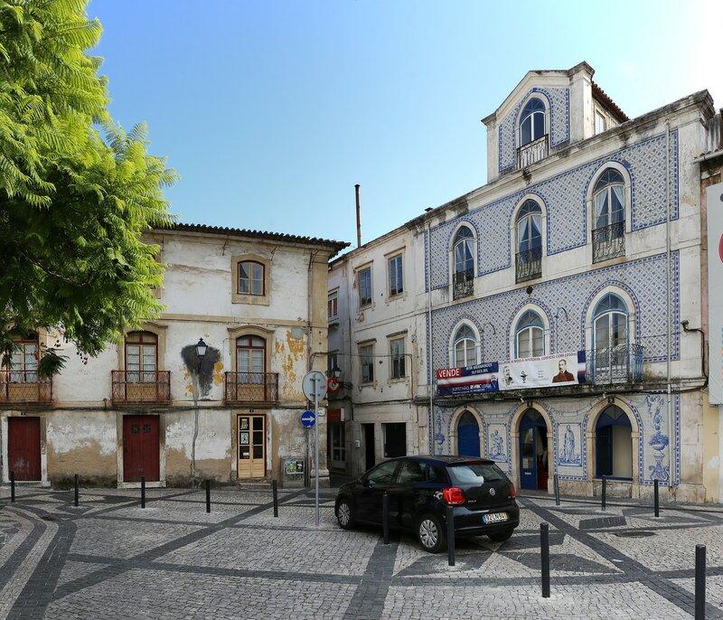 Leiria. Cathedral square (Largo da Sé)