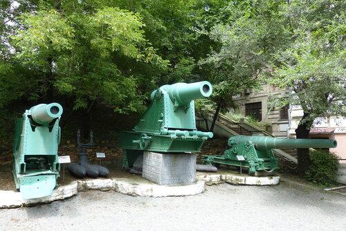 Пушки с фортов