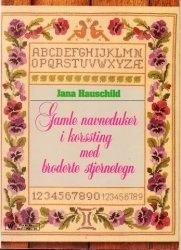 Книга Gamle navneduker i korssting med broderte stjernetegn